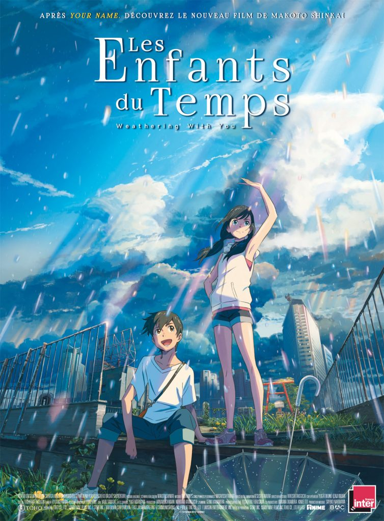 Weathering with you de Makoto Shinkai